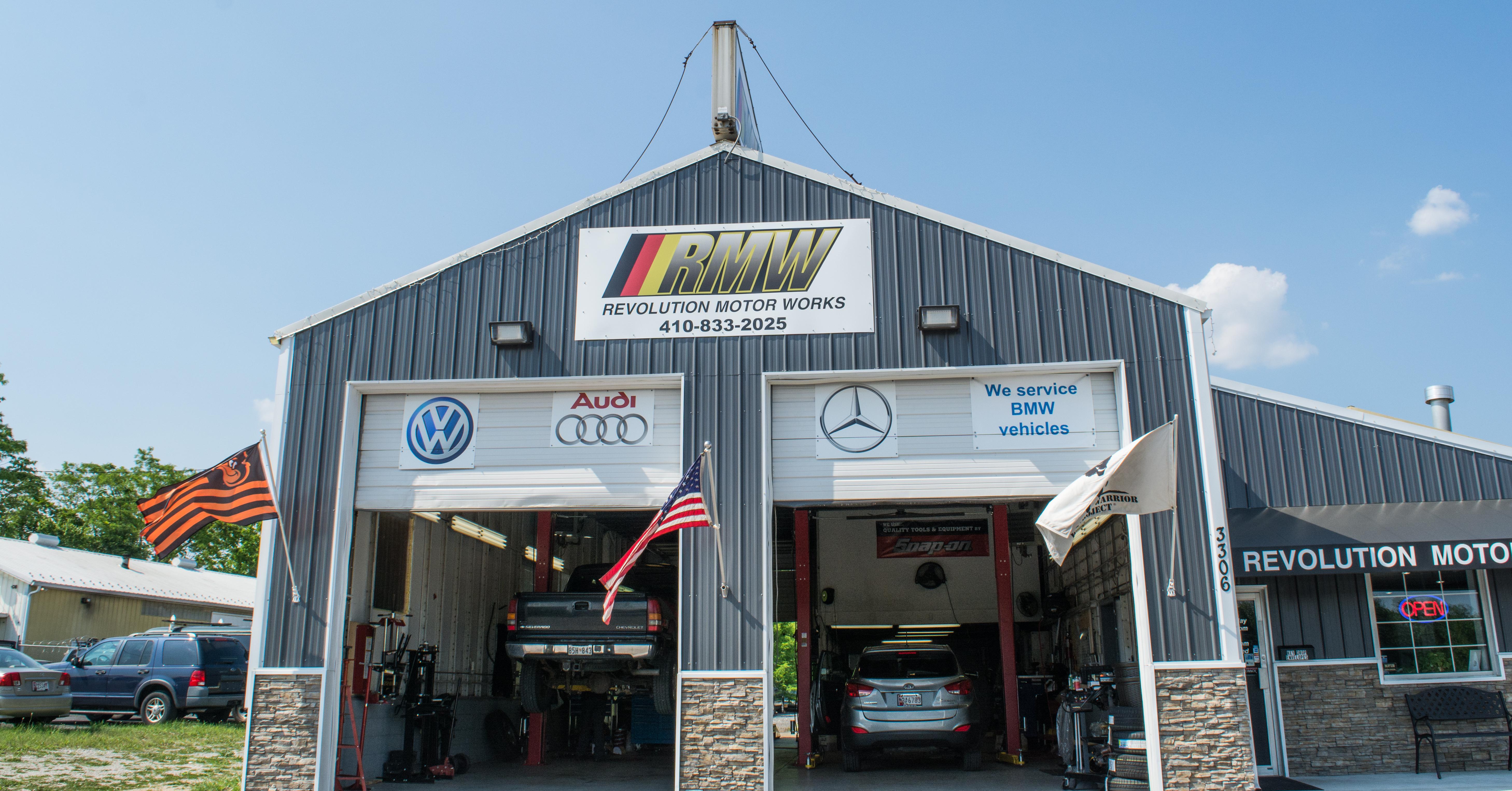Revolution Motor Works | Auto Repair in 3306 Baltimore Blvd - Finksburg MD - Reviews - Photos - Phone Number