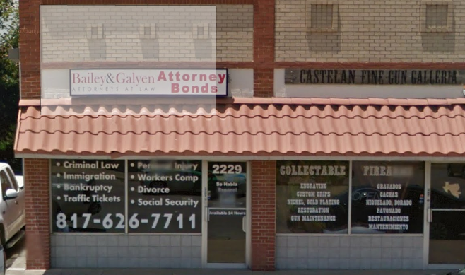 Bailey & Galyen Attorneys at Law | Lawyers in 2229 N. Main St. - Fort Worth TX - Reviews - Photos - Phone Number