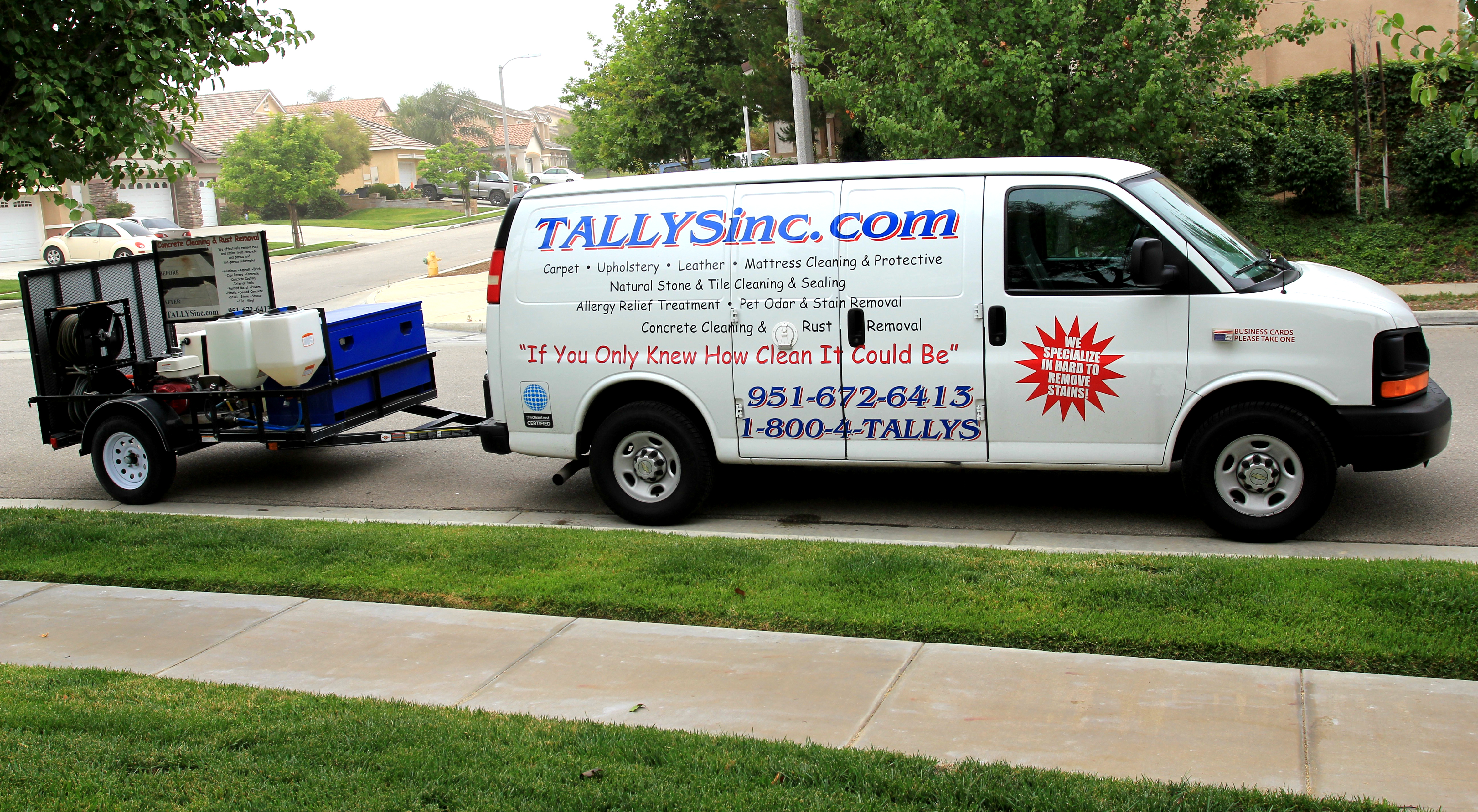 Tally's Carpet & Upholstery Cleaning, Inc | Carpet Cleaning in 33842 Vinca Ln - Murrieta CA - Reviews - Photos - Phone Number