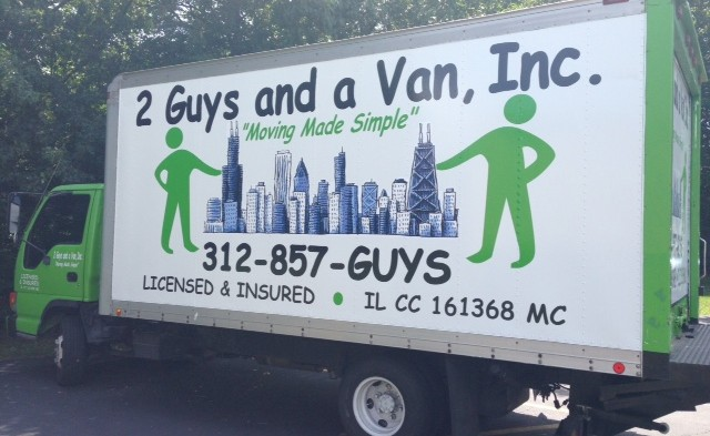 2 Guys and a Van, Inc. | Movers in 3047 N Lincoln Ave - Chicago IL - Reviews - Photos - Phone Number