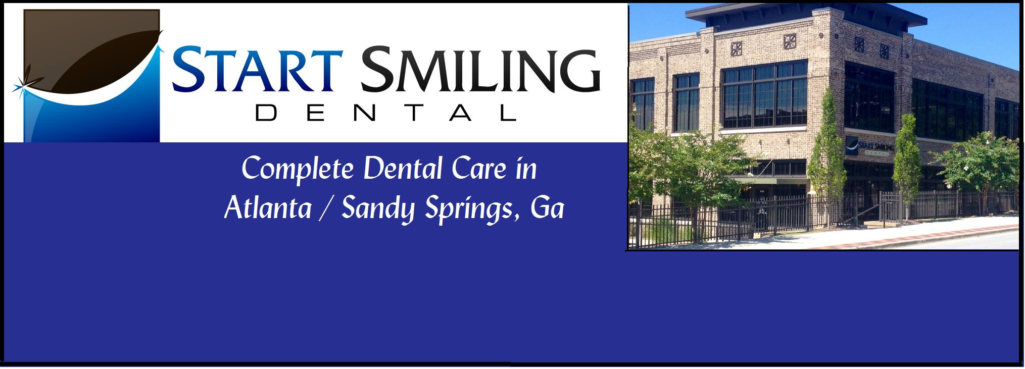 Start Smiling Dental reviews | Cosmetic Dentists at 185 Allen Rd. - Sandy Springs GA