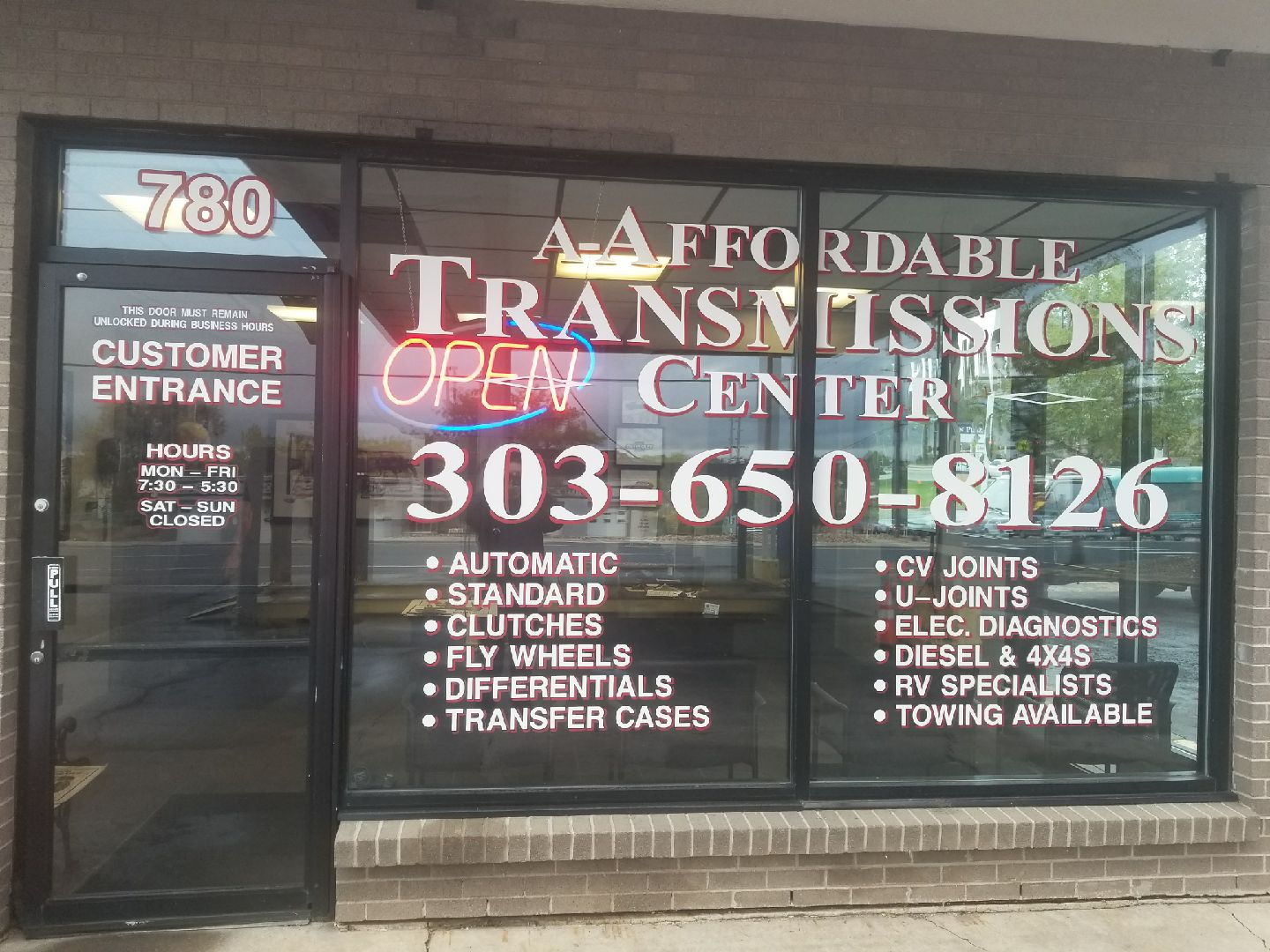 A-Affordable Transmissions Center reviews | Automotive at 780 W 84th Ave - Thornton CO