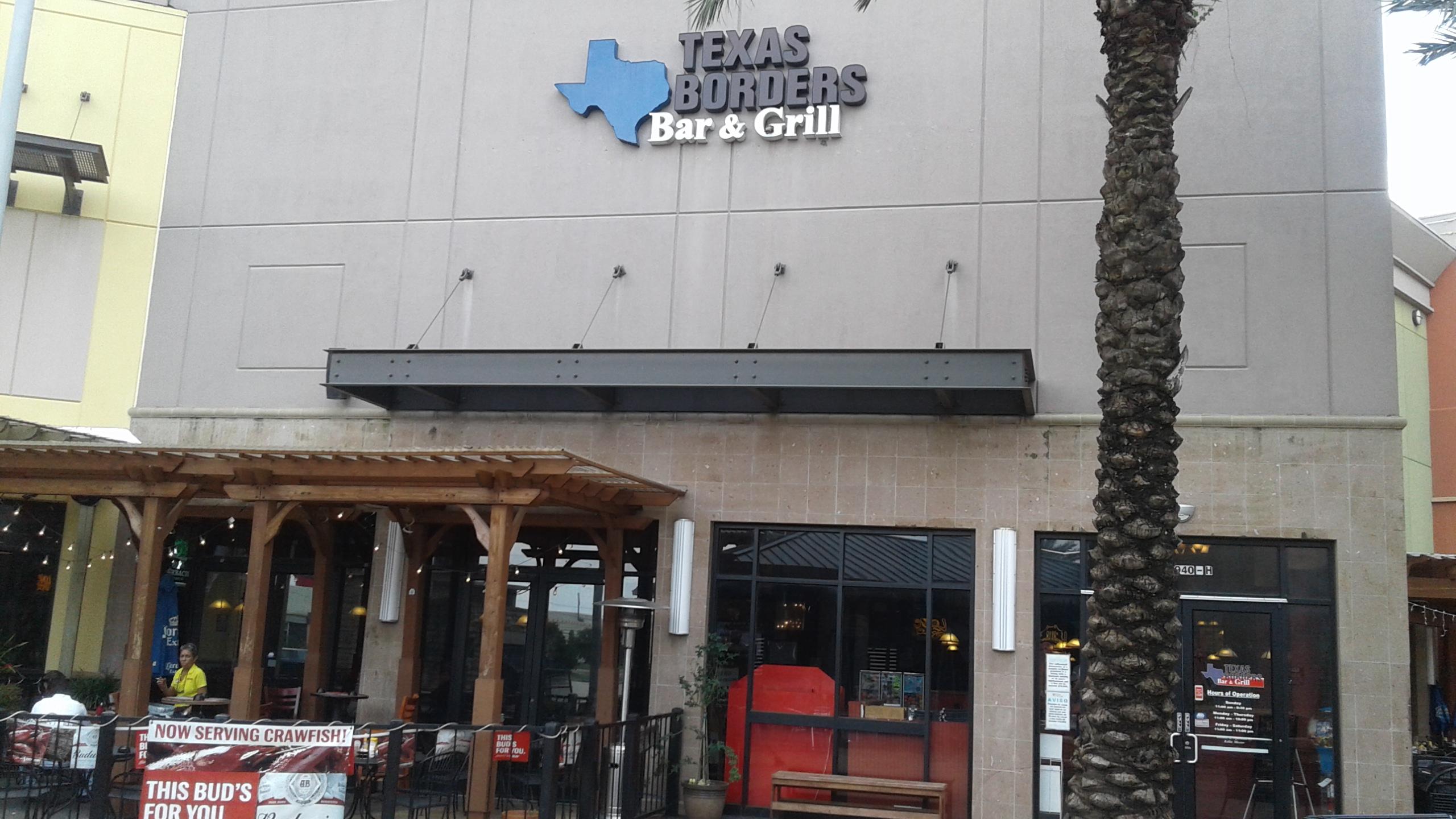 Texas Borders Bar & Grill | Restaurants at 20940 Katy Fwy - Katy TX - Reviews - Photos - Phone Number