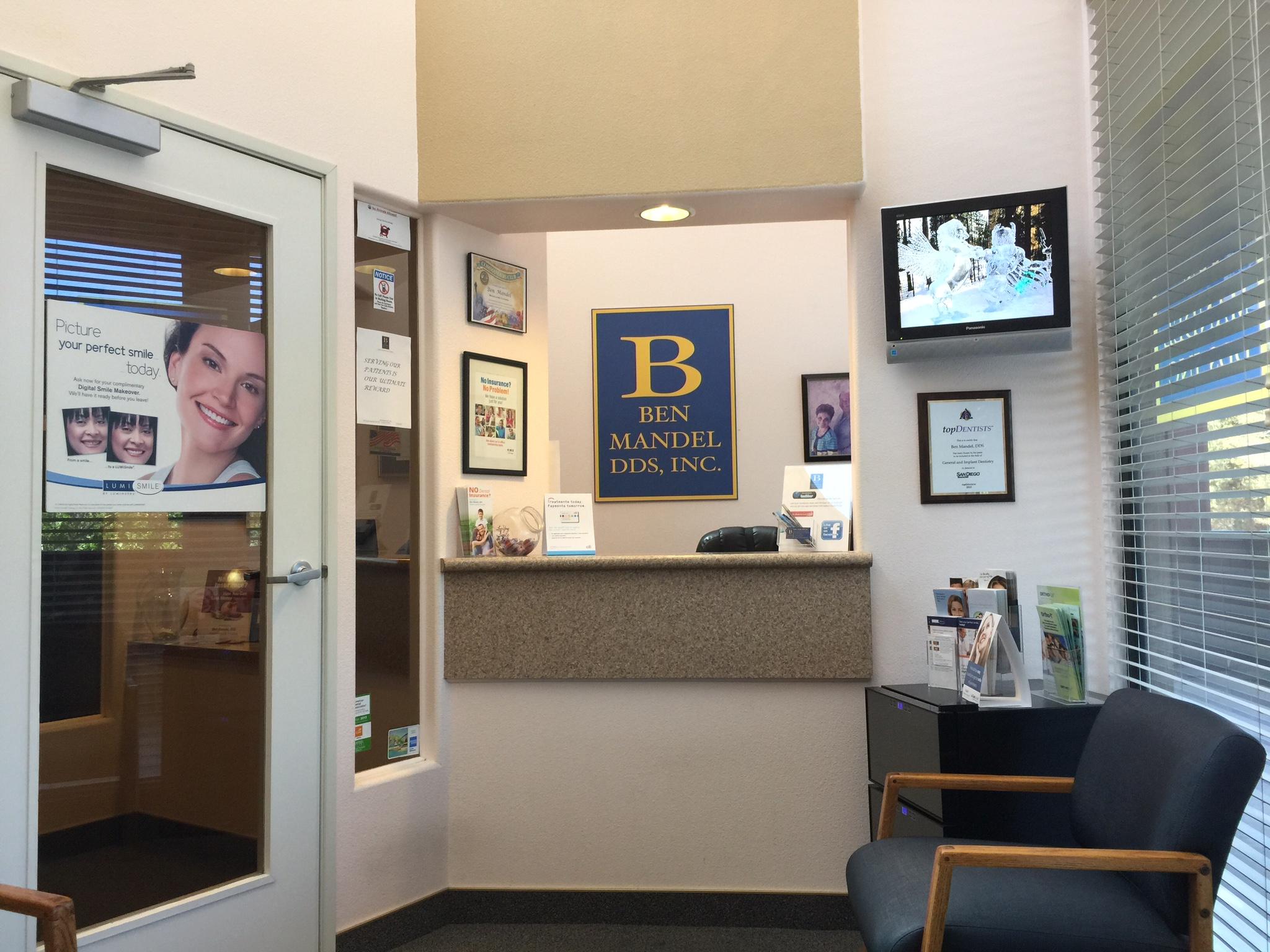 Ben Mandel DDS Inc. reviews   Cosmetic Dentists at 3835 Avocado Blvd #220 - La Mesa CA