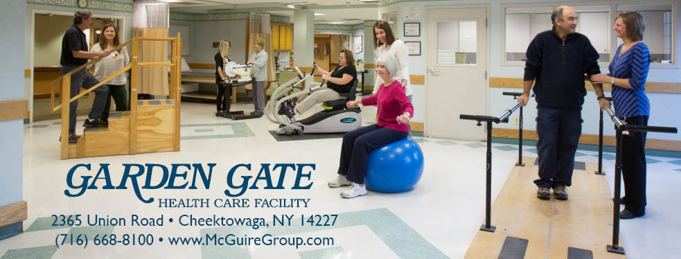 Garden Gate Health Care Facility reviews | Rehabilitation Center at 2365 Union Road - Cheektowaga NY
