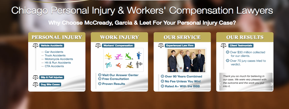 McCready Garcia & Leet, P.C. | Personal Injury Law at 10008 S. Western Avenue - Chicago IL - Reviews - Photos - Phone Number
