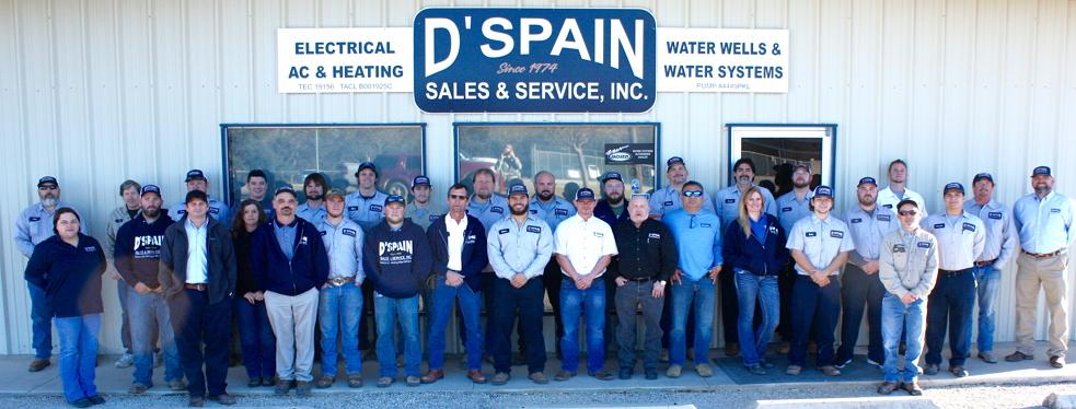 D'Spain Sales and Service reviews | Electricians at 355 Mason Creek Loop - Bandera TX