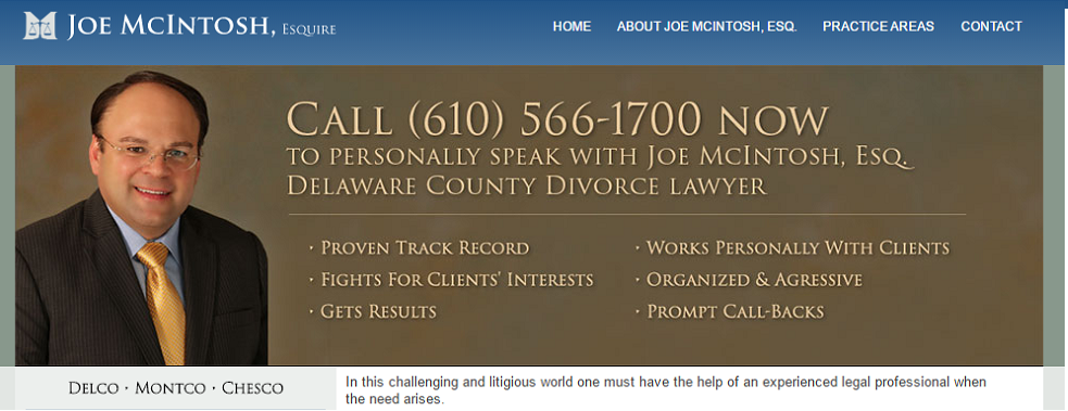 McIntosh Lawyers, PC reviews | Divorce & Family Law at 23 West Second Street - Media PA