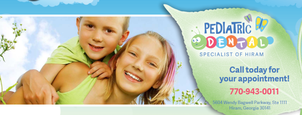 Pediatric Dental Specialist of Hiram reviews | Dentists at 5604 Wendybagwell Parkway - Hiram GA