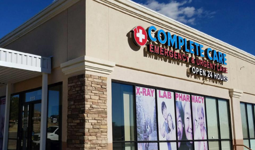 Complete Care Er And Urgent Care Reviews Urgent Care At 8115 Voyager Pkwy Colorado Springs Co
