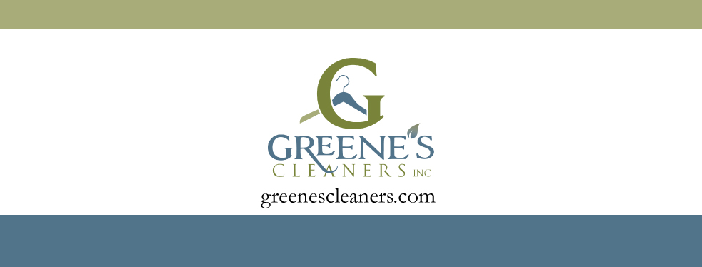 Greene's Cleaners logo