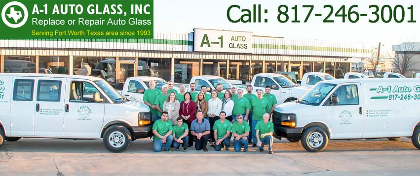 A-1 Auto Glass | Auto Glass Services in 7940 West Fwy - Fort Worth TX - Reviews - Photos - Phone Number