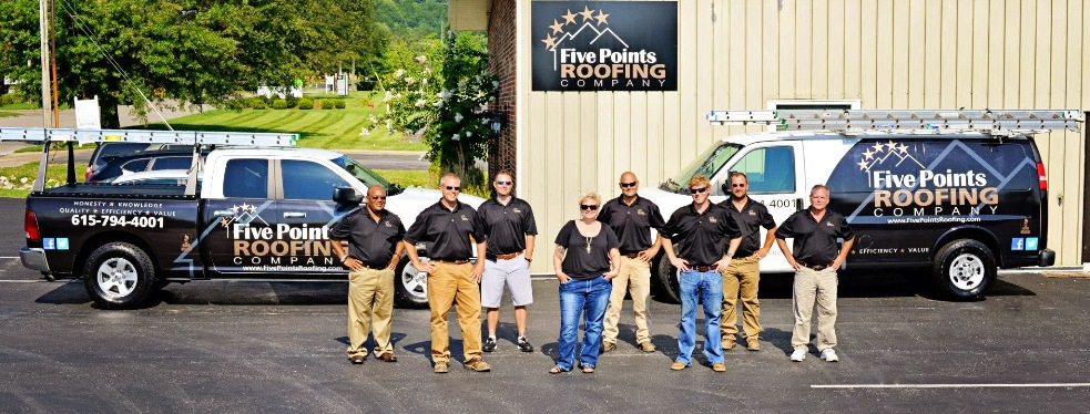 Five Points Roofing reviews | Roofing at 118 Beasley Drive - Franklin TN