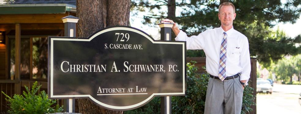 Christian A. Schwaner, P.C. reviews | Criminal Defense Law at 729 S. Cascade Ave. - Colorado Springs CO