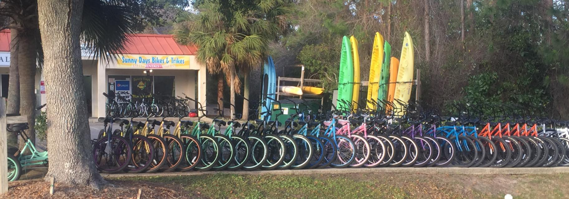 Sunny Days Bike & Beach Sports | Bike Rentals at 5311 East County - Santa Rosa Beach FL - Reviews - Photos - Phone Number