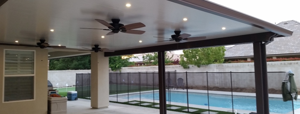 Bakersfield Patio Covers and Seamless Rain Gutters reviews | Gutter Services at 2433 Fruitvale Avenue - Bakersfield CA
