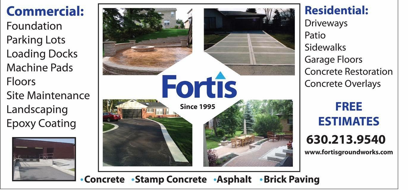 Fortis Ground Works reviews | Masonry/Concrete at 1235 Humbracht Circle - Bartlett IL