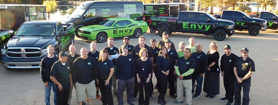 Envy Restoration and Construction reviews | Damage Restoration at 116 E Broadway Rd - Mesa AZ