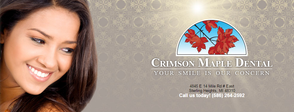 Crimson Maple Dental reviews | Cosmetic Dentists at 4845 E 14 Mile Rd - Sterling Heights MI