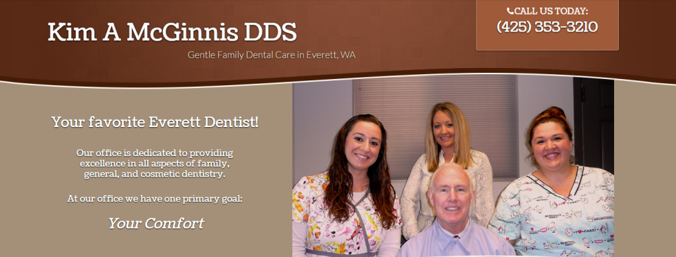 Kim A McGinnis DDS reviews | Cosmetic Dentists at 2121 Madison St - Everett WA