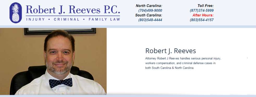 Robert J Reeves P.C. reviews | DUI Law at 1012 Market Street - Fort Mill SC