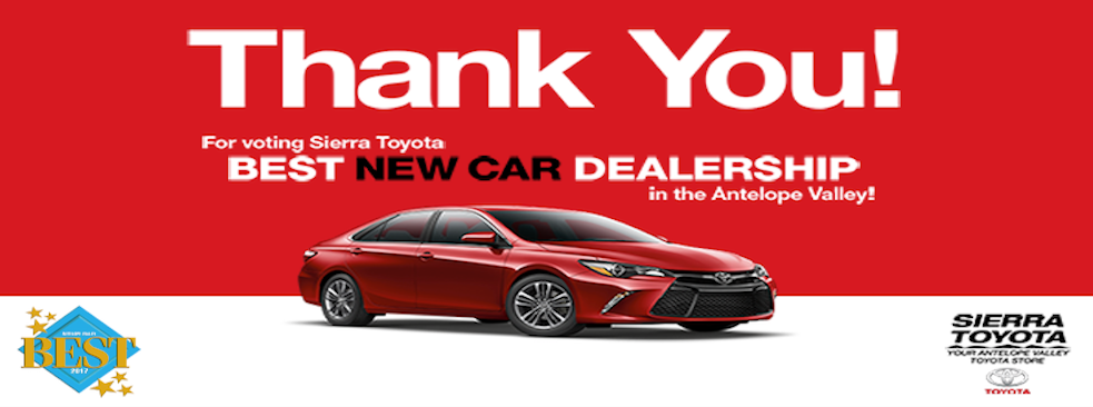 Wonderful Sierra Toyota | Car Dealers In 43301 12th St W   Lancaster CA   Reviews    Photos   Phone Number