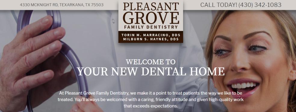 Pleasant Grove Family Dentistry reviews | Dentists at 4330 McKnight Rd. - Texarkana TX