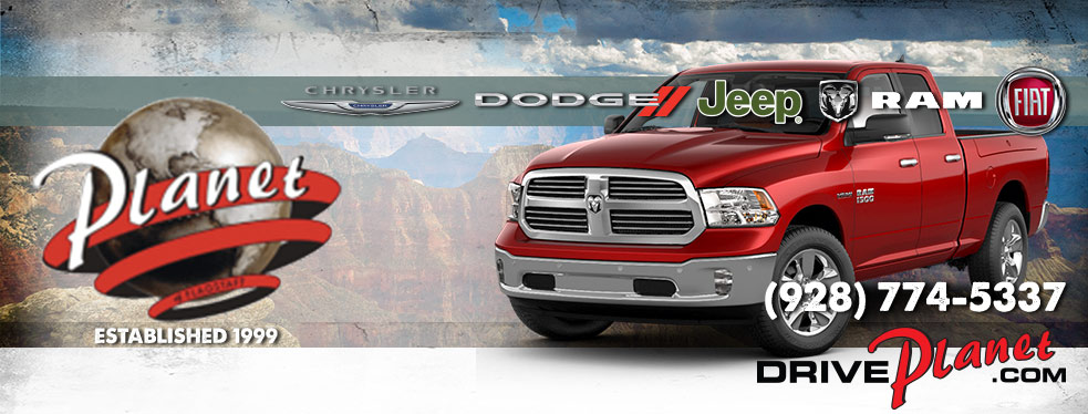Planet Chrysler Dodge Jeep Ram FIAT Of Flagstaff