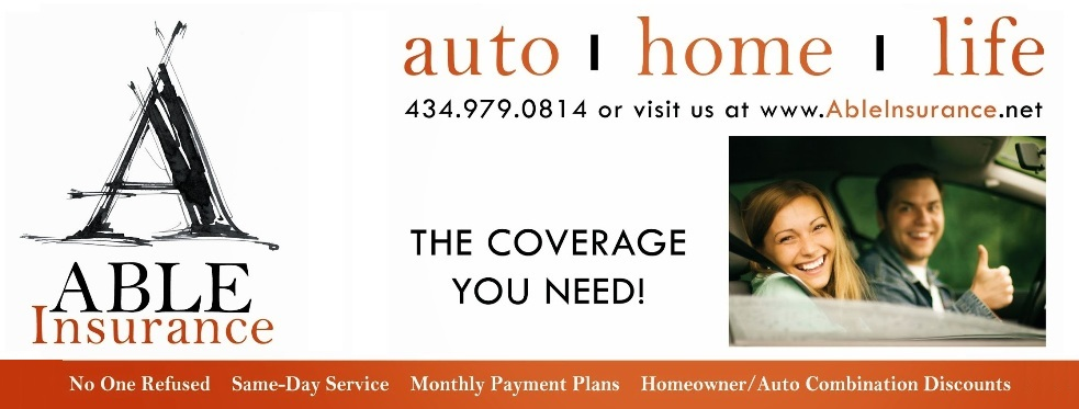 Able Insurance Virginia reviews | Auto Insurance at 716 Rio Rd West Ste. D - Charlottesville VA