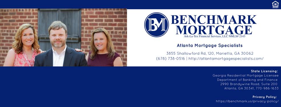 Benchmark Mortgage - Atlanta Mortgage Specialists   Mortgage Lender at 3855 Shallowford Rd - Marietta GA - Reviews - Photos - Phone Number