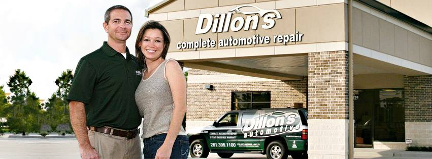 Dillon's Automotive reviews | Auto Repair at 5755 Katy-Gaston Rd - Katy TX