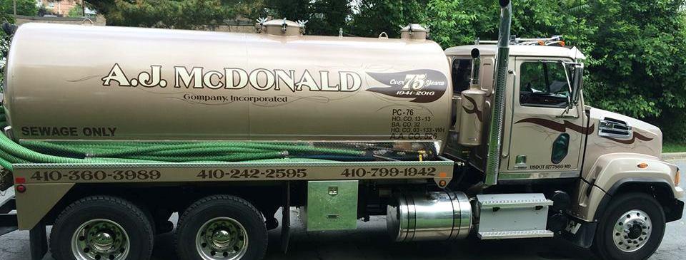 AJ McDonald Co, Inc reviews | Plumbing at 8212 Elkwood Ct. - Pasadena MD