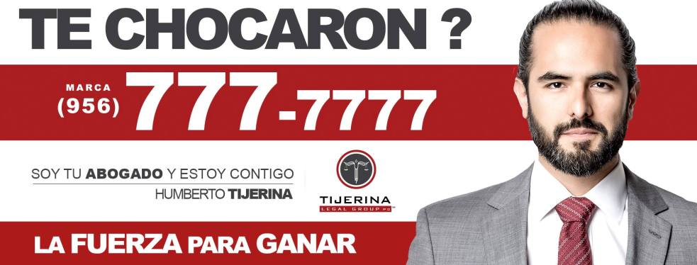 Tijerina Legal Group PC reviews | Personal Injury Law at 1200 S Col Rowe Blvd Ste A4 - McAllen TX
