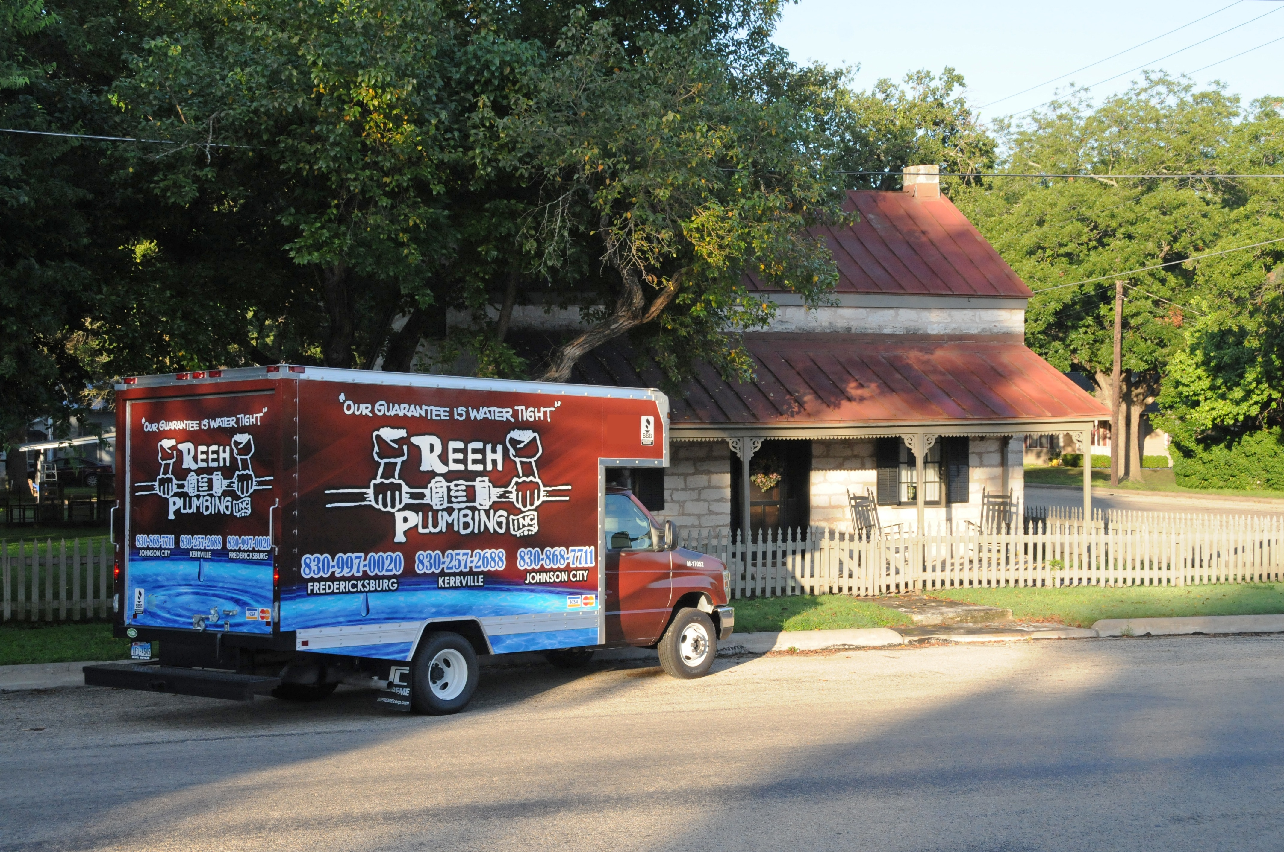 Reeh Plumbing, Renown Listing, 3494 Ranch Rd 1631 reviews | Plumbing at 3494 Ranch Rd 1631 - Fredericksburg TX