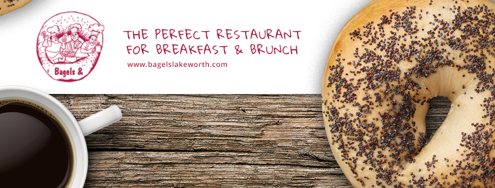 Bagels & | Restaurants at 6556 Hypoluxo Rd - Lake Worth