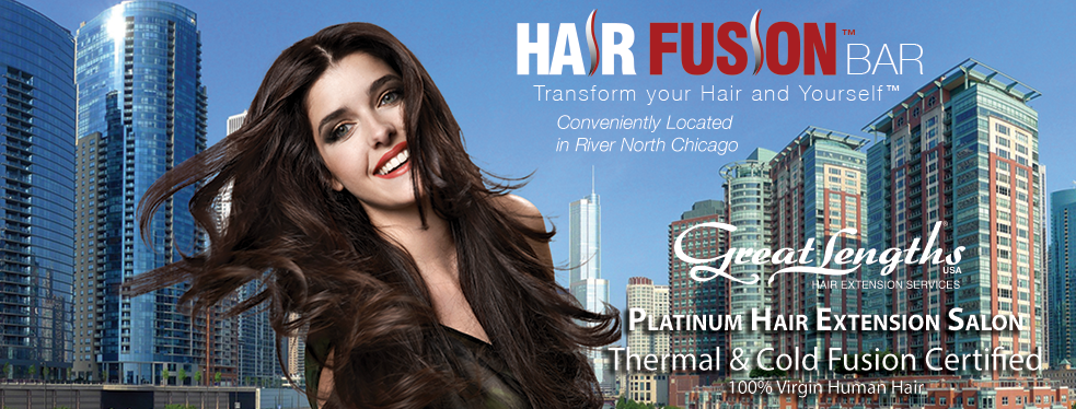 Hair Fusion Bar Hair Extensions At 409 West Huron St Chicago Il
