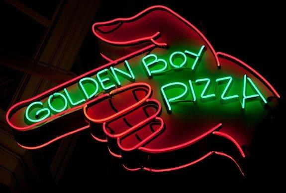 Golden Boy Pizza - San Francisco, CA reviews | Italian at 542 Green St - San Francisco CA