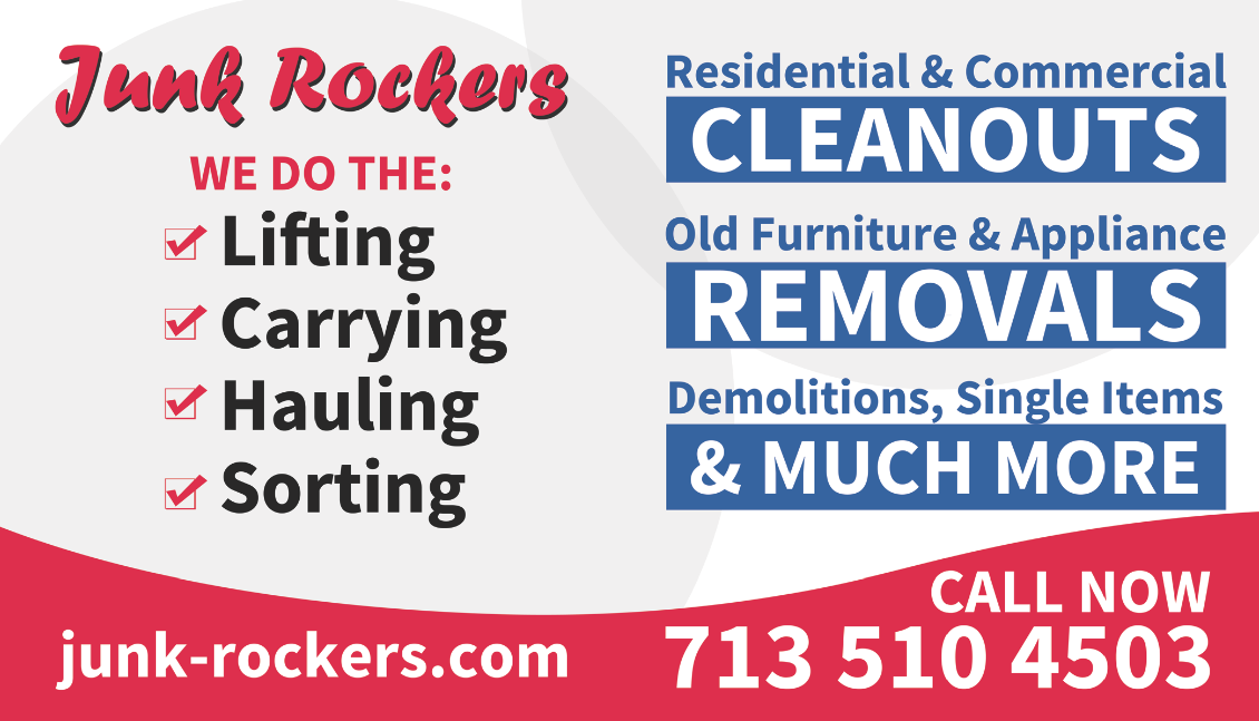 Junk Rockers Junk Removal (Central Houston SW) | Junk Removal and Hauling at 1029 Highway 6 N - Houston TX - Reviews - Photos - Phone Number