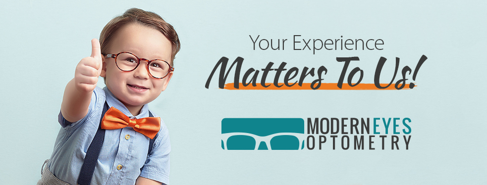 Modern Eyes Optometry reviews | Eyewear & Opticians at 378 Mountainview Rd S #4 - Georgetown ON