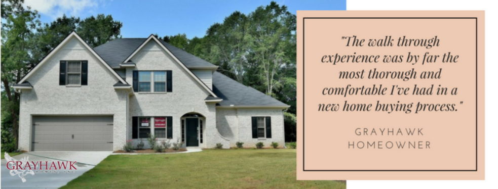 Grayhawk homes reviews construction at 2301 airport for Home builders columbus ga