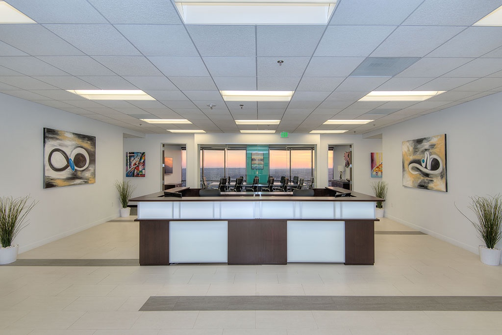 Titan Offices reviews | Shared Office Spaces at 1055 W 7th St 33rd Floor Penthouse - Los Angeles CA
