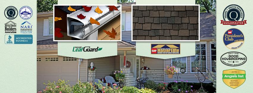 LeafGuard by Midlands Home Solutions reviews | Roof Inspectors at 10416 Chandler Cir - La Vista NE