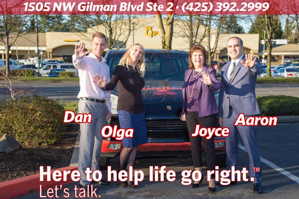 Aaron A. Hakobian, Your Local StateFarm Agent reviews | Auto Insurance at 1505 NW Gilman Blvd Ste 2 - Issaquah WA