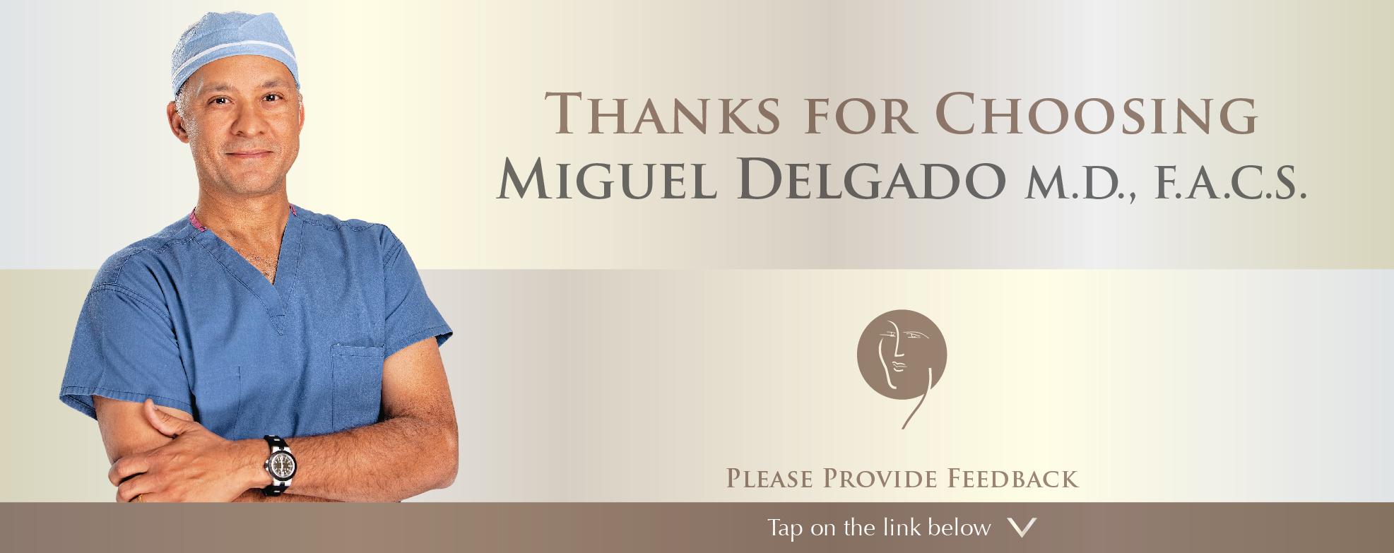 Miguel Delgado, MD reviews | Cosmetic Surgeons at 165 Rowland Way - Novato CA