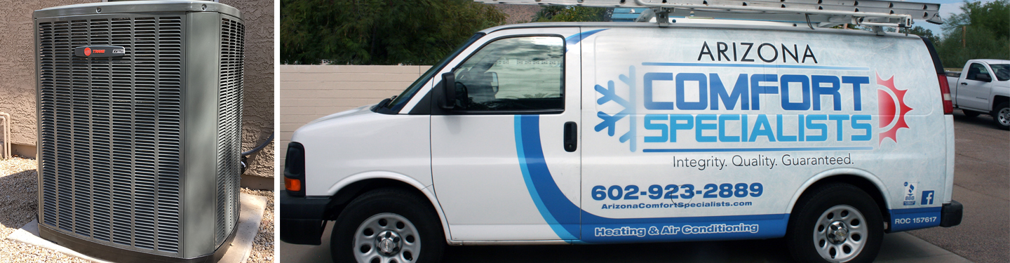 Arizona Comfort Specialists reviews | Heating & Air Conditioning/HVAC at 1517 E Christy Dr - Phoenix AZ