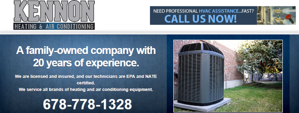Kennon Heating & Air Conditioning reviews | Construction at 115 enterprise Dr - Cumming GA
