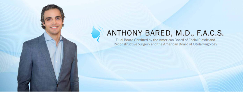 Dr. Anthony Bared, M.D - Facial Plastic Surgeon reviews | Plastic Surgeons at 6280 Sunset Dr - Miami FL