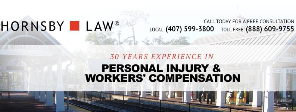 Hornsby Law reviews | Personal Injury Law at 1936 Lee Road - Winter Park FL