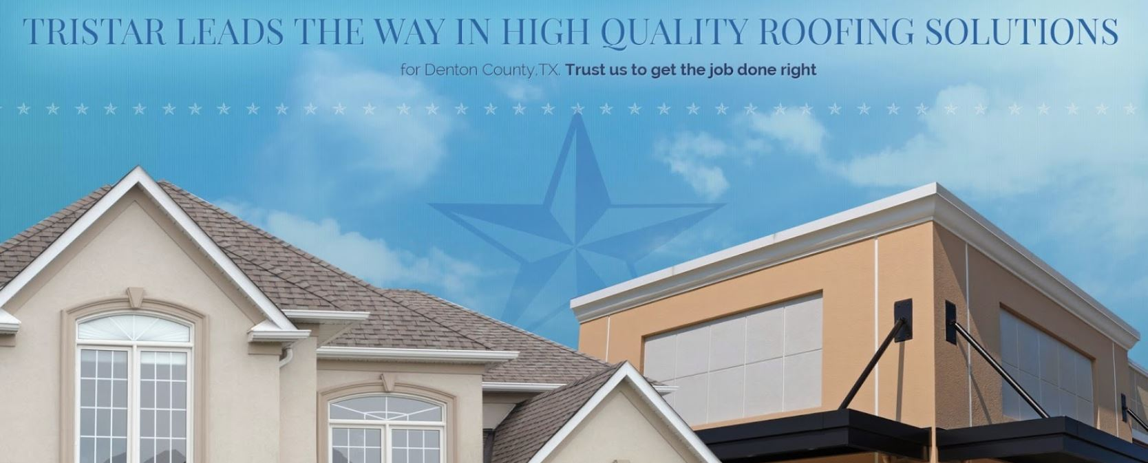 TriStar Quality Roofing reviews | Damage Restoration at 2126 JAMES STREET DENTON - Denton TX