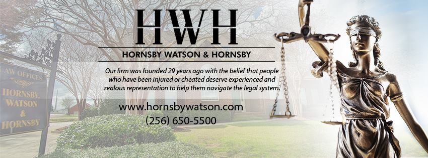 Hornsby, Watson & Hornsby reviews | Personal Injury Law at 1110 Gleneagles Dr SW - Huntsville AL
